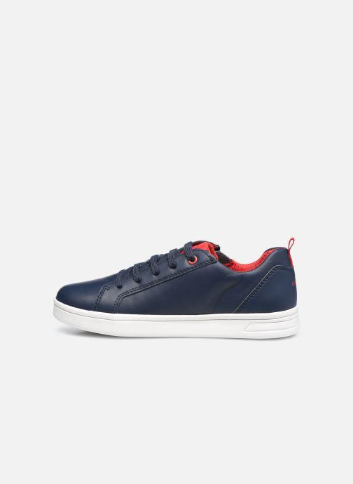 Sneaker Geox J Djrock Boy J925VD blau ansicht von vorne