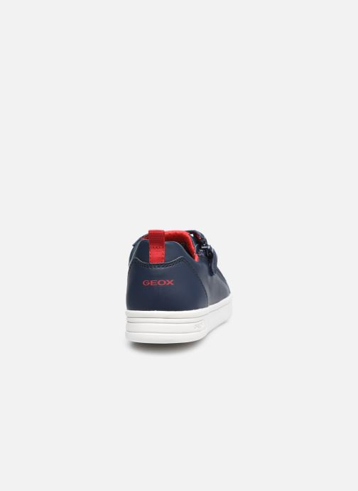 Sneaker Geox J Djrock Boy J925VD blau ansicht von rechts