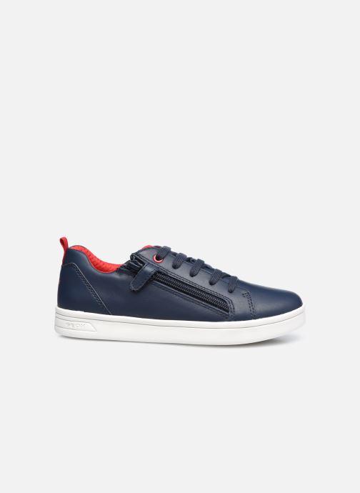 Sneaker Geox J Djrock Boy J925VD blau ansicht von hinten