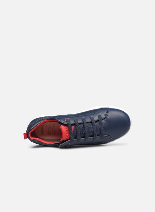 Sneaker Geox J Djrock Boy J925VD blau ansicht von links