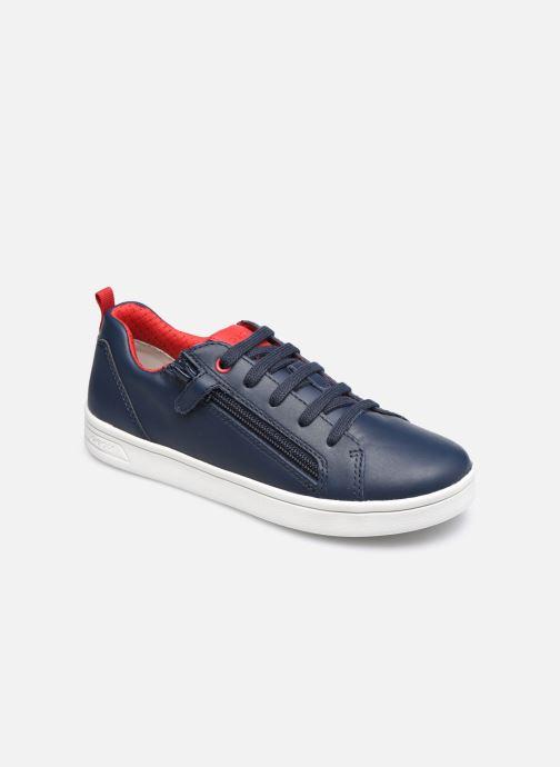 Sneaker Geox J Djrock Boy J925VD blau detaillierte ansicht/modell