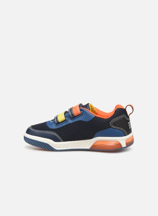 Sneakers Geox J Inek Boy J929CC Blå se forfra