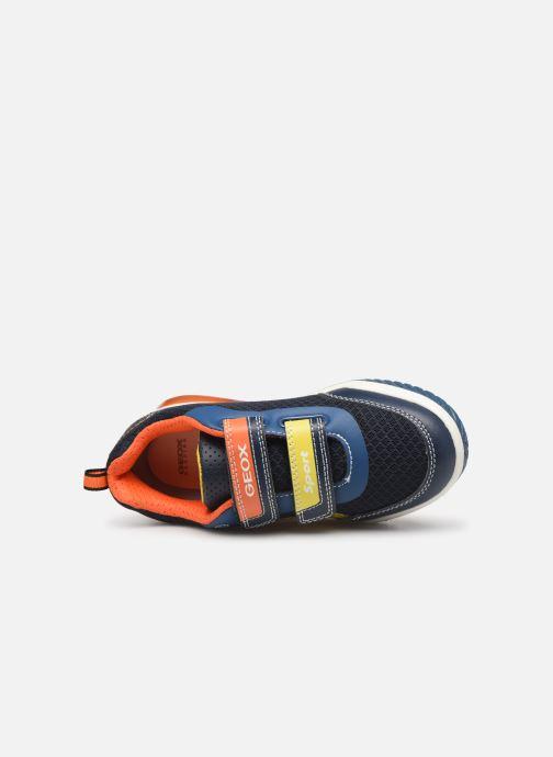 Sneakers Geox J Inek Boy J929CC Blauw links