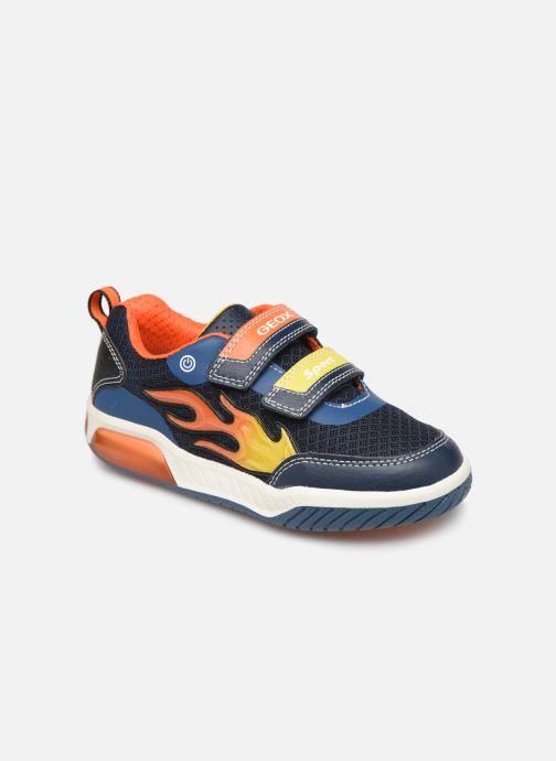 Sneakers Geox J Inek Boy J929CC Blauw detail