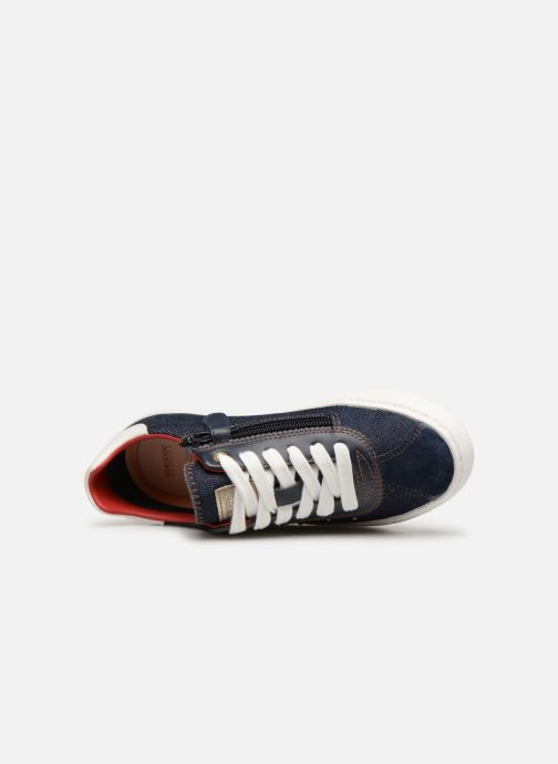 Sneakers Geox J Kilwi Girl J92D5A Blauw links