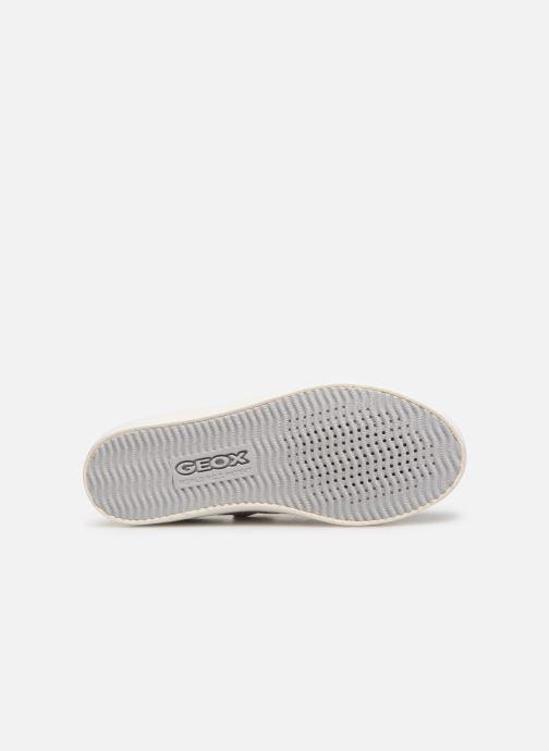 Sneakers Geox J Kilwi Girl J92D5A Grijs boven