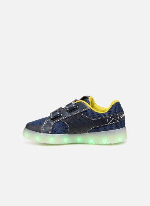 Sneakers Geox J Kommodor Boy J925PA Blauw voorkant