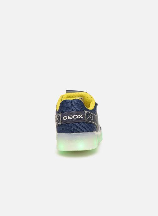 Baskets Geox J Kommodor Boy J925PA Bleu vue droite