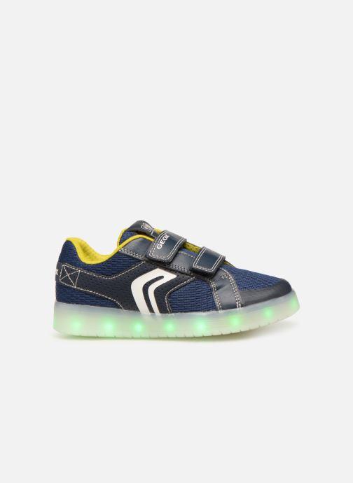 Sneakers Geox J Kommodor Boy J925PA Blauw achterkant