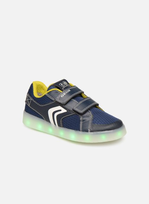 Sneakers Geox J Kommodor Boy J925PA Blauw detail