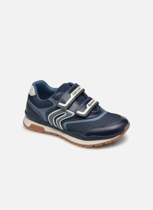 Trainers Geox J Pavel J9215A Blue detailed view/ Pair view