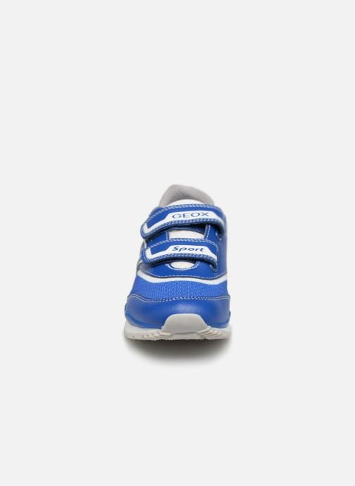 Trainers Geox J Pavel J9215A Blue model view