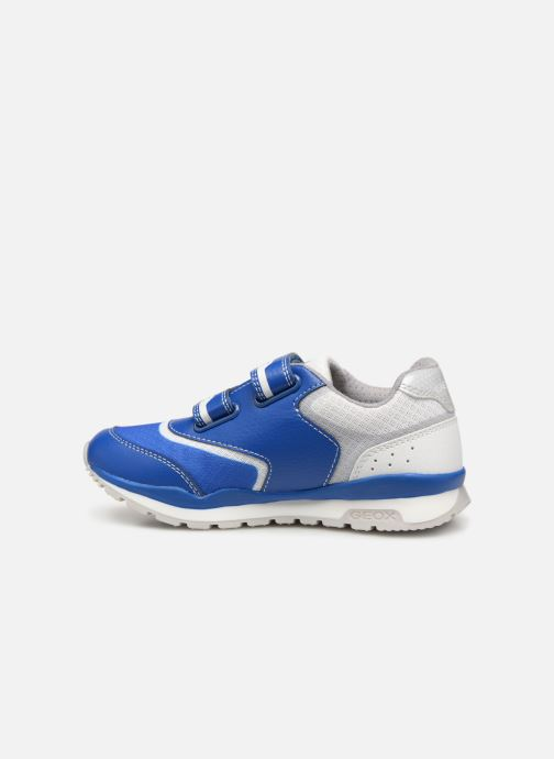Trainers Geox J Pavel J9215A Blue front view