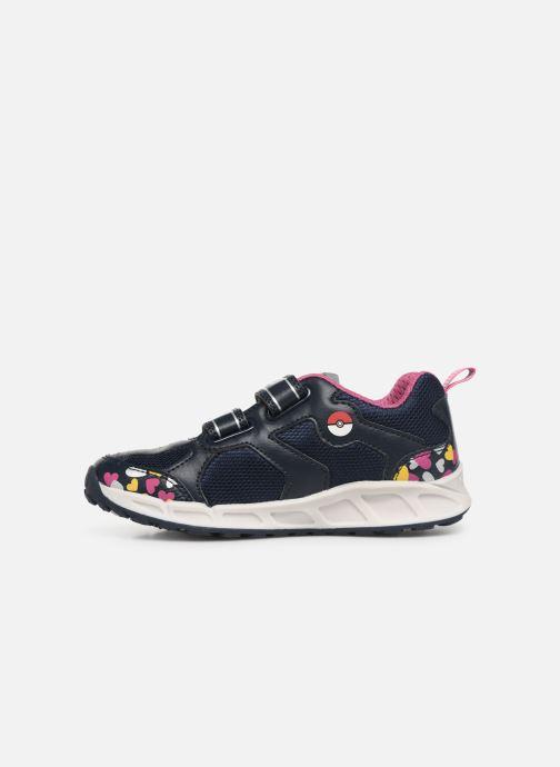 Sneakers Geox J Shuttle Girl J8206D Blå se forfra