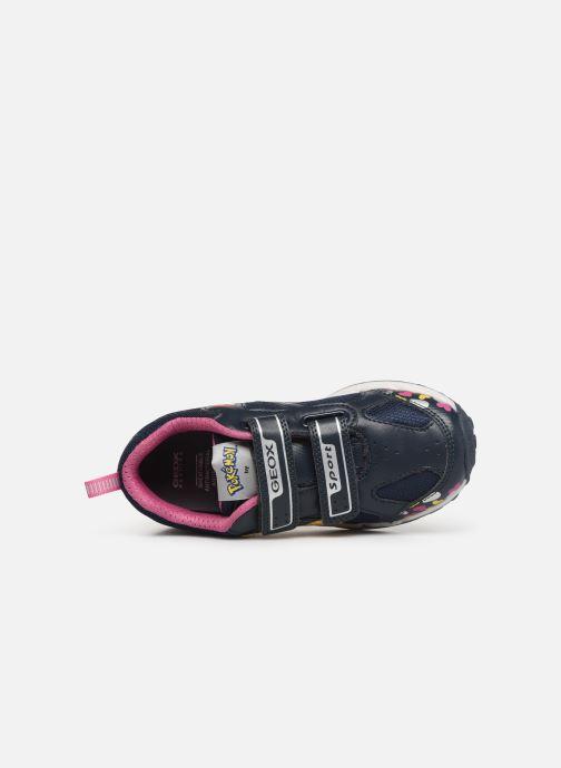 Sneakers Geox J Shuttle Girl J8206D Blå se fra venstre