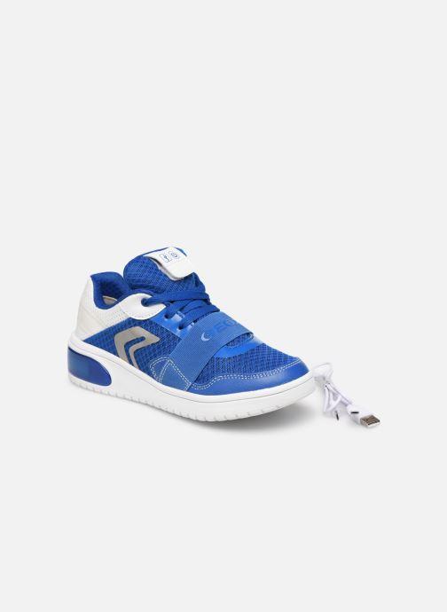 Sneakers Geox J Xled Boy J927QB Blauw 3/4'