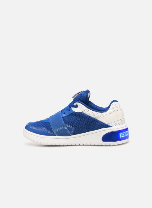 Trainers Geox J Xled Boy J927QB Blue front view