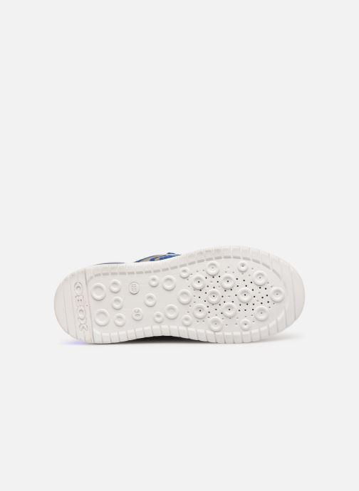 Sneakers Geox J Xled Boy J927QB Blauw boven