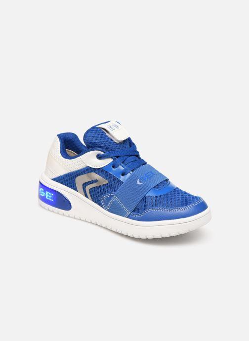 Sneakers Geox J Xled Boy J927QB Blauw detail