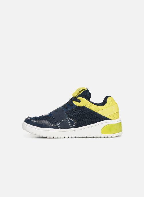 Sneaker Geox J Xled Boy J927QB blau ansicht von vorne