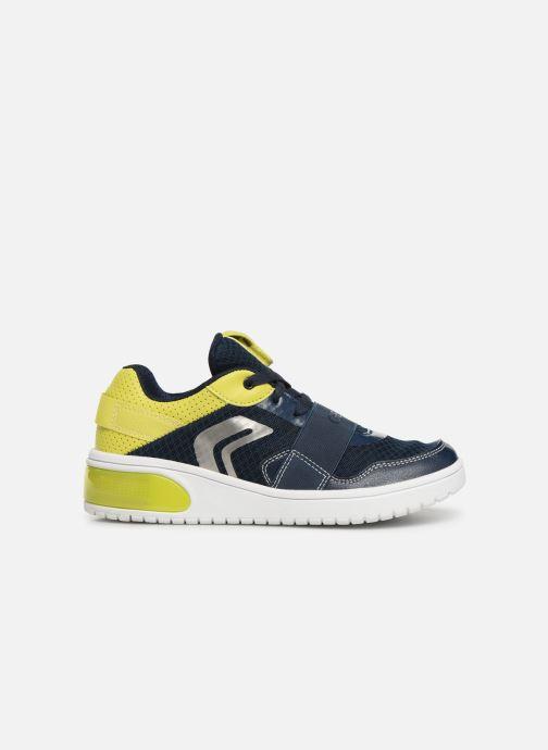 Sneaker Geox J Xled Boy J927QB blau ansicht von hinten