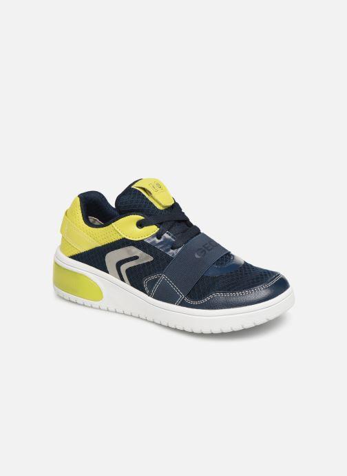Sneaker Geox J Xled Boy J927QB blau detaillierte ansicht/modell