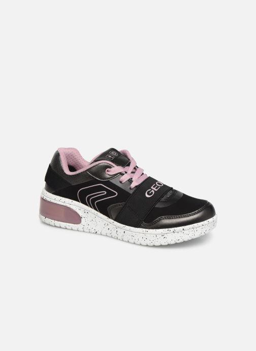 Sneakers Geox J Xled Girl J928DA Nero vedi dettaglio/paio