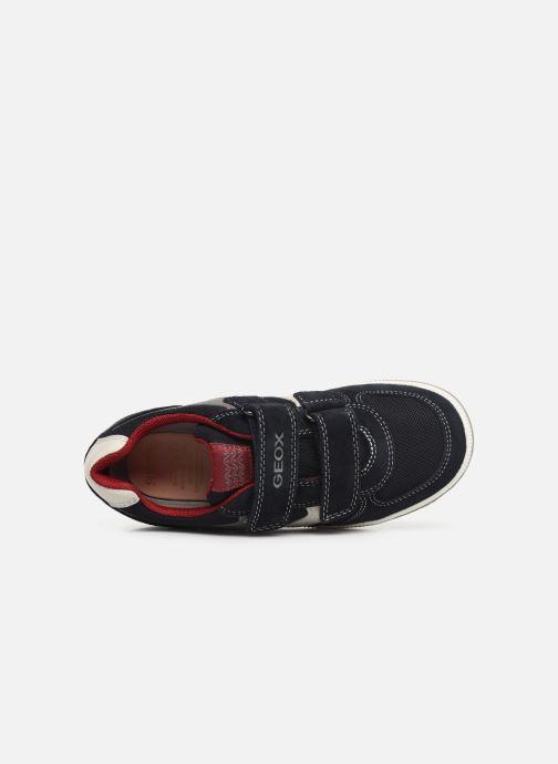 Sneakers Geox Jr Vita J92A4A Blauw links