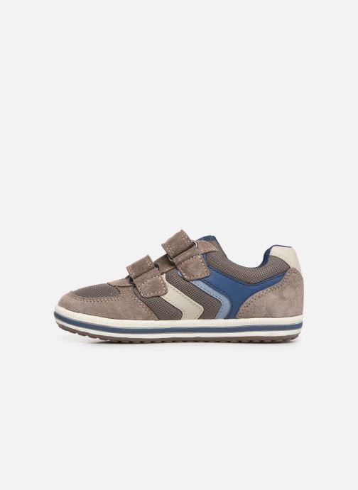 Sneakers Geox Jr Vita J92A4A Beige bild från framsidan