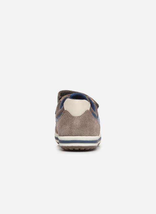 Sneakers Geox Jr Vita J92A4A Beige Bild från höger sidan