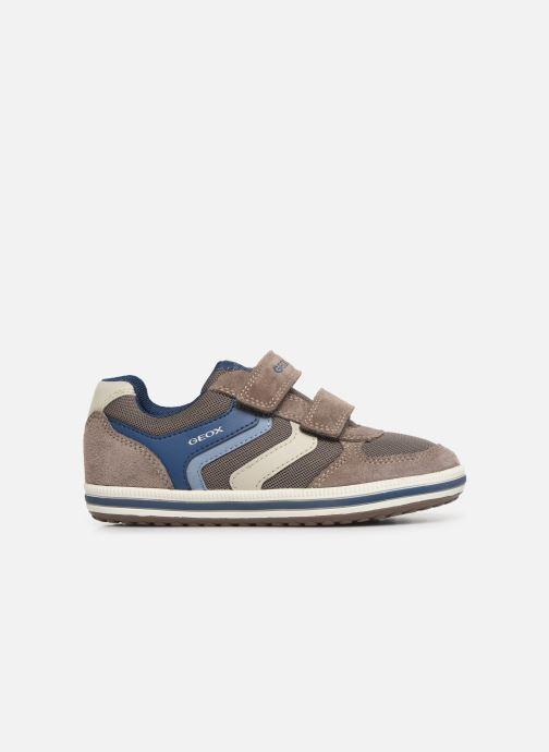 Sneakers Geox Jr Vita J92A4A Beige bild från baksidan