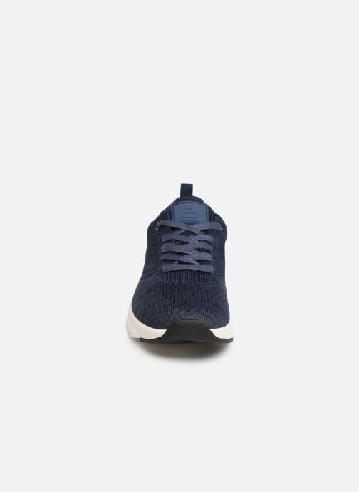 Baskets Bullboxer Mateo Bleu vue portées chaussures