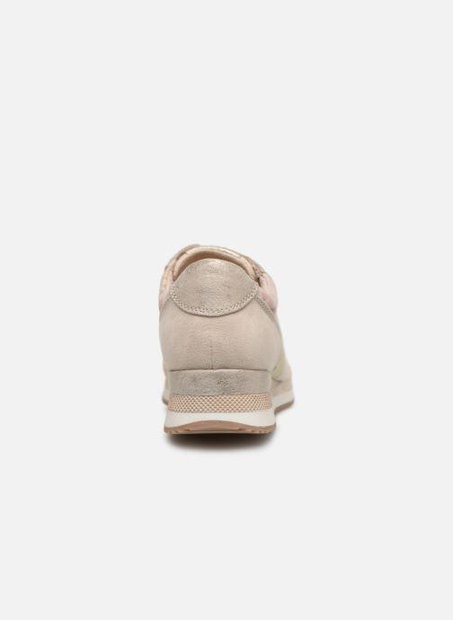 Sneaker Marco Tozzi Jena beige ansicht von rechts