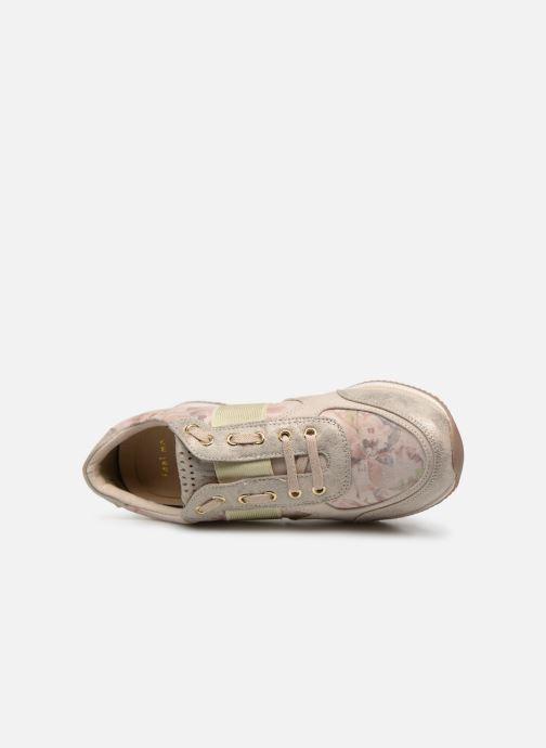 Sneaker Marco Tozzi Jena beige ansicht von links