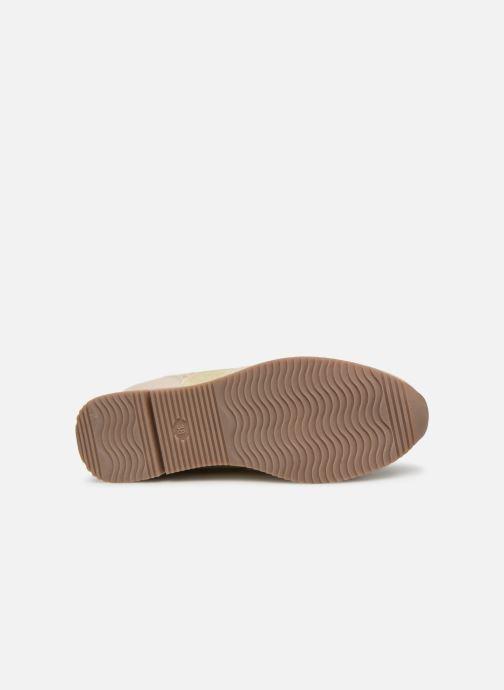 Sneaker Marco Tozzi Jena beige ansicht von oben