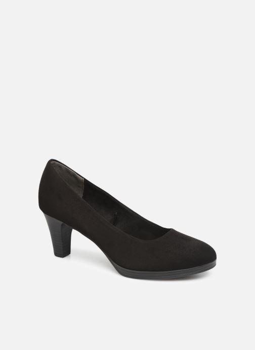 High heels Marco Tozzi Tika Black detailed view/ Pair view