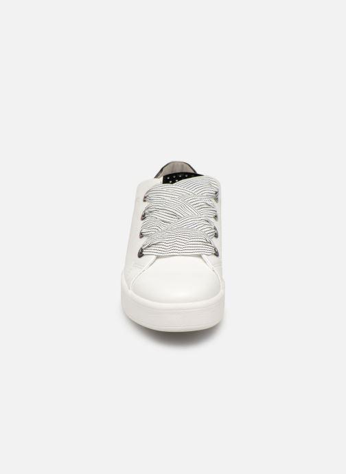 Baskets Marco Tozzi Lita Blanc vue portées chaussures