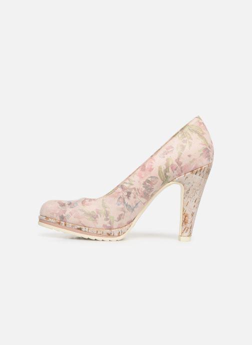 High heels Marco Tozzi Melis Beige front view