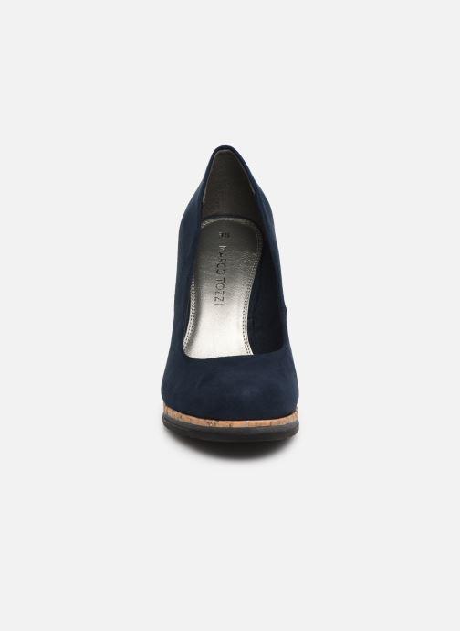 Escarpins Marco Tozzi Melis Bleu vue portées chaussures