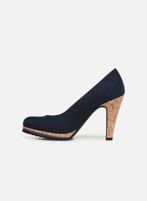 High heels Marco Tozzi Melis Blue front view