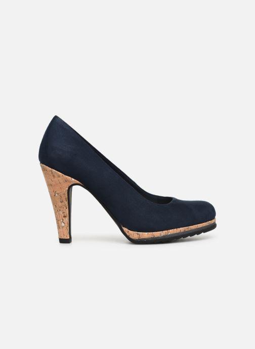 High heels Marco Tozzi Melis Blue back view