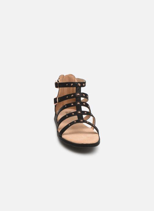 Sandales et nu-pieds Bullboxer Julia Noir vue portées chaussures