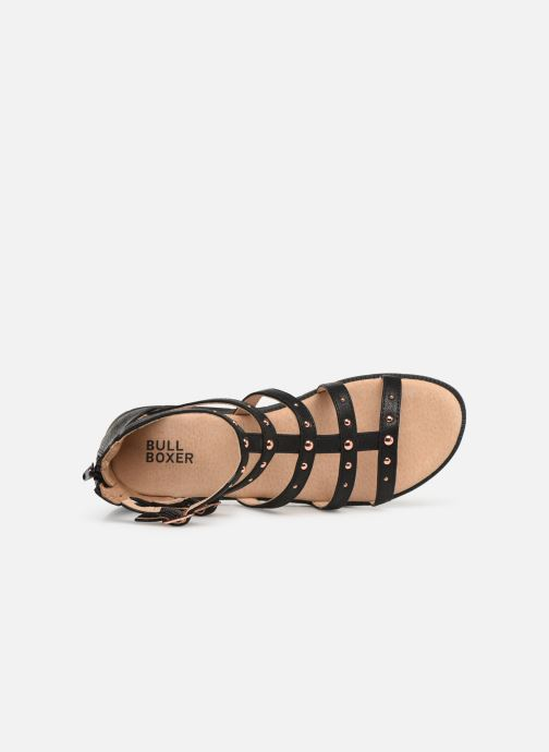 Sandals Bullboxer Julia Black view from the left