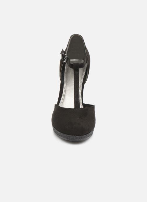 Escarpins Marco Tozzi Heta Noir vue portées chaussures