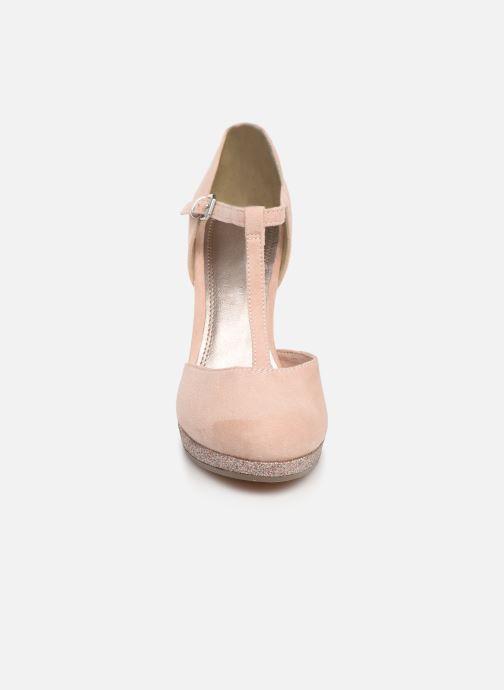 Escarpins Marco Tozzi Heta Rose vue portées chaussures