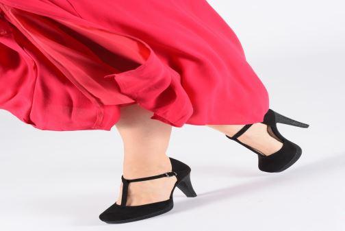 Zapatos de tacón Marco Tozzi Heta Azul vista de abajo