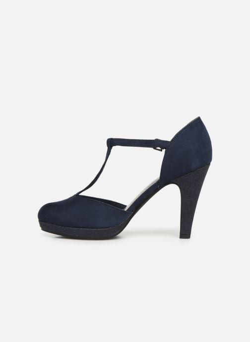 Zapatos de tacón Marco Tozzi Heta Azul vista de frente