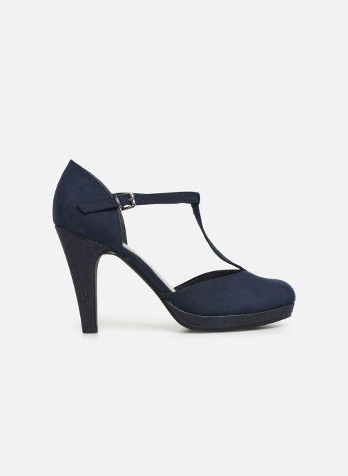 High heels Marco Tozzi Heta Blue back view