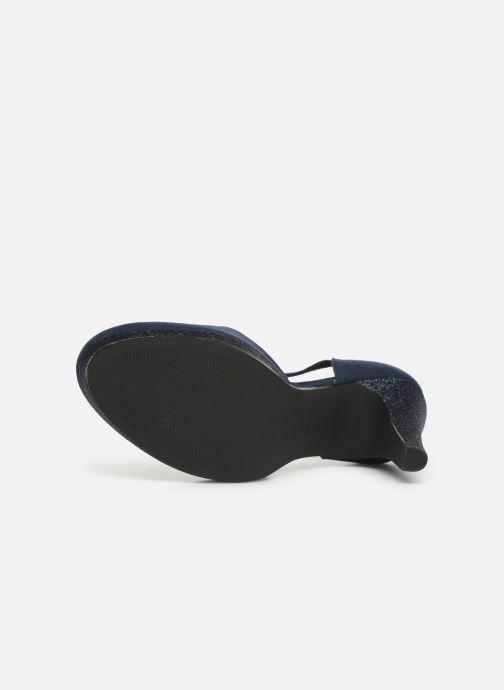 Zapatos de tacón Marco Tozzi Heta Azul vista de arriba