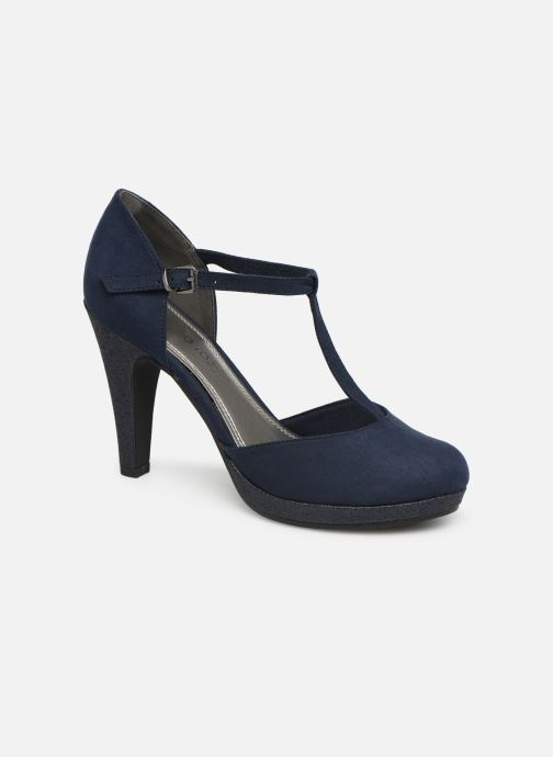 High heels Marco Tozzi Heta Blue detailed view/ Pair view
